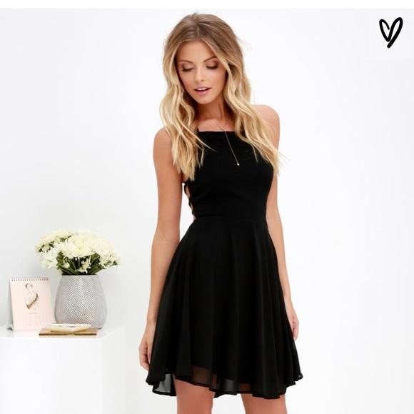 Lulus Dresses Homecoming Dress W Laceup Back Poshmark